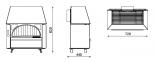 Камин Alfa-Plam Rustik/Rustikal 11 кВт 0